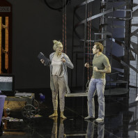 Micaëla Oeste et Guillaume Andrieux - Le Téléphone par Sylvie Laligne