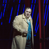 George Gagnidze - Rigoletto par Michael Mayer