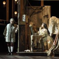 Gheorghiu et Corbelli dans Adriana Lecouvreur