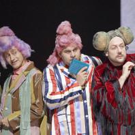 Marcus Pelz, Carlos Osuna & Christian Miedl - Orlando par Polly Graham