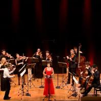 Sandrine Piau, Le Concert de la Loge et Julien Chauvin à l'Auditorium du Louvre