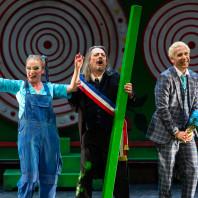 Ingrid Perruche, Jean-Damien Barbin et David Ghilardi dans V'lan dans l'œil