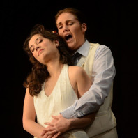 Francesca Aspromonte (Euridice) et Judith van Wanroij (Orfeo)