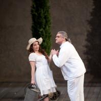 Erin Morley et Carlo Allemano dans la Fausse Jardinière