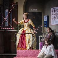 Marion Ammann et Benjamin Hulett dans Das Liebesverbot