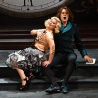 Eléonore Pancrazi et Jean-Michel Richer dans l'Heure espagnole