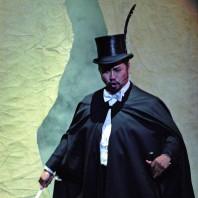 Kwangchul Youn dans Faust à l'Opéra d'Etat de Vienne