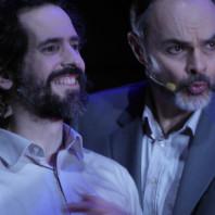 Lionel Gonzalez et Lionel Peintre dans Je suis un homme ridicule