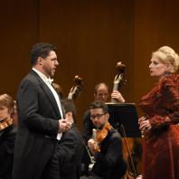 Luca Salsi et Doris Soffel en concert