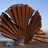 Monument Peter Grimes dédié à Britten