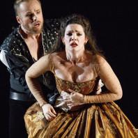 Colin Ainsworth (Jason) et Mireille Asselin (Créuse) - Opéra Atelier