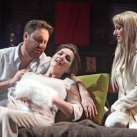 Anna Patalong, Olivia Doray et Alessandro Liberatore dans La bohème à Rouen