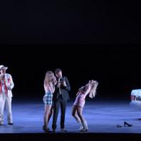 Carmen par Calixto Bieito - Boris Grappe (Le Dancaïre), Anita Rachvelishvili (Carmen), Vannina Santoni (Frasquita), Antoinette Dennefeld (Mercédès) et François Rougier (Le Remendado)