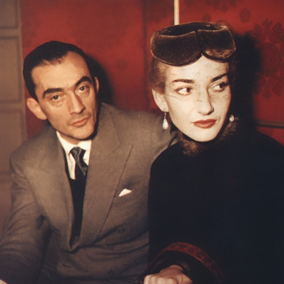 Visconti et Maria Callas
