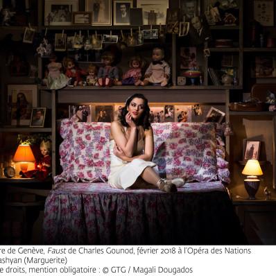 Ruzan Mantashyan (Marguerite) - Faust par Georges Lavaudant