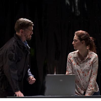 Andréa Früh (Jaquino) et Olivia Doray (Marcelline) - Fidelio par Philippe Miesch