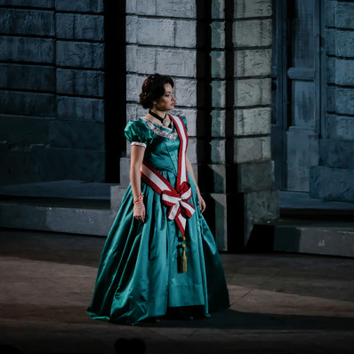 Nino Surguladze - Nabucco par Arnaud Bernard