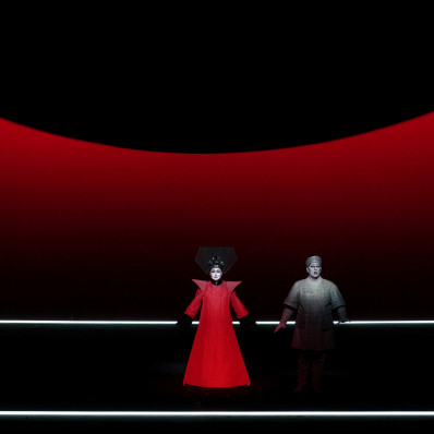 Irene Theorin & Gregory Kunde - Turandot par Robert Wilson