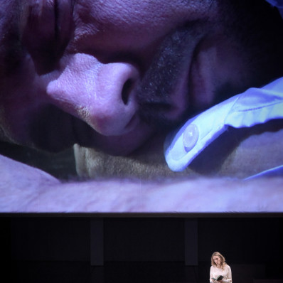 Stéphane Degout - Hamlet par Cyril Teste