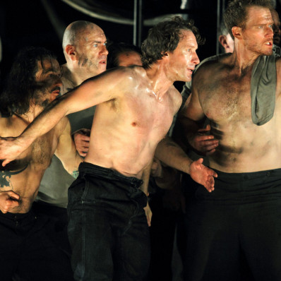 Jacques Imbrailo et Duncan Rock - Billy Budd par Deborah Warner