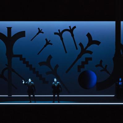 Francesco Demuro, Vladimir Stoyanov et Stuart Skelton - Otello par Robert Wilson