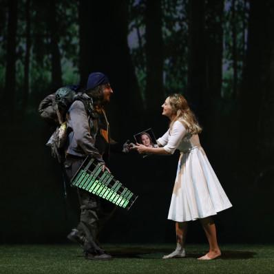 Florian Sempey et Vannina Santoni - La Flûte enchantée par Robert Carsen