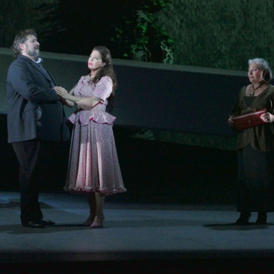 Nicola Alaimo, Jessica Nuccio & Cécile Galois - Rigoletto par Charles Roubaud