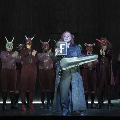 Christopher Purves - La Damnation de Faust par Richard Jones