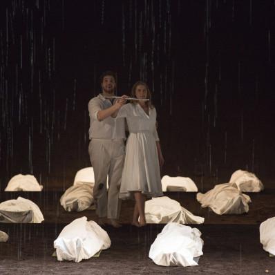 Mauro Peter et Jacquelyn Wagner dans la Flûte enchantée