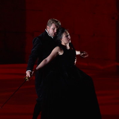 Mariangela Sicilia, Stanislas de Barbeyrac  - Don Giovanni par Davide Livermore
