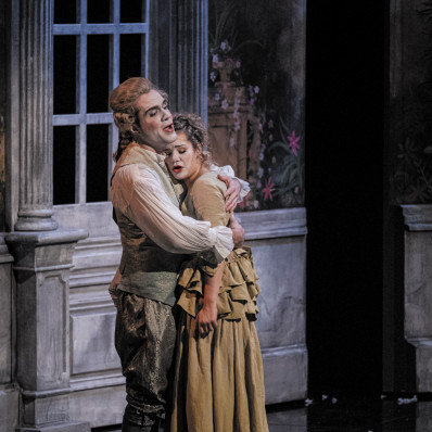 Gilen Goicoechea et Tamara Bounazou dans Les Petites noces