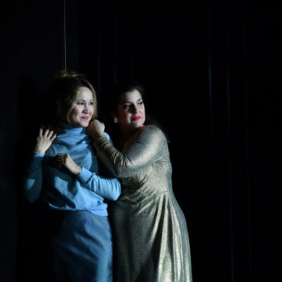 Dilyara Idrisova & Carol Garcia - Le Triomphe du Temps et de la Désillusion par Ted Huffman