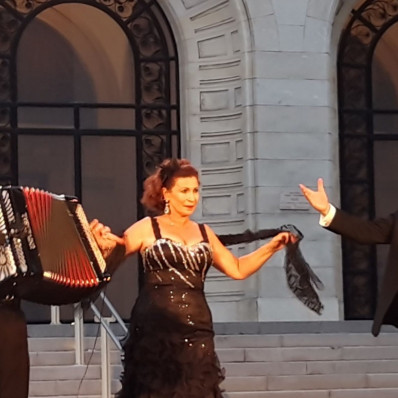 Michel Glasko, Marie-Ange Todorovitch et Jean-François Vinciguerra - Tiempo de Tango à Vichy