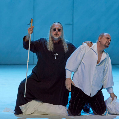 Roberto Scandiuzzi & Michele Pertusi - Don Carlos par Peter Konwitschny