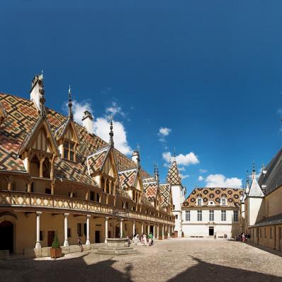 Cour de l'Hôtel-Dieu de Beaune
