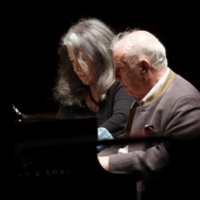 Martha Argerich et Daniel Barenboim