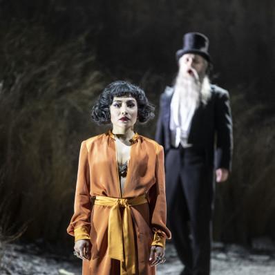 Nina Minasyan et Andrei Popov dans le Coq d'Or