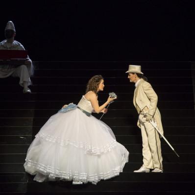 Morley et Sindram dans le Chevalier à la Rose