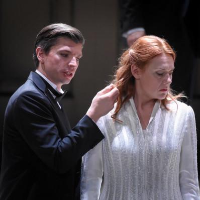 Callum Thorpe et Madgalena Kozena dans Le Retour d'Ulysse dans sa Patrie