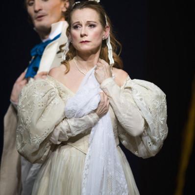 Michal Partyka et Sophie Marin-Degor dans Eugène Onéguine