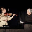 Le dernier jour d'un condamné (violon Alexandra Jouannie et récitante Catherine Alcover)