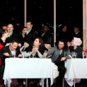 La Bohème par Richard Jones - Simona Mihai, Mariusz Kwiecień, Florian Sempey, Michael Fabiano, Nicole Car et Luca Tittoto