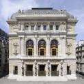 Façade de l'Opéra Comique de Paris
