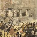 Incendie de la deuxième salle Favart le 25 mai 1887