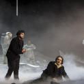 Artur Rucinski (Marcello) et Atalla Ayan (Rodolfo) - La Bohème par Claus Guth