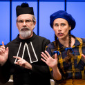 Franck Leguérinel et Amaya Dominguez - Les Mousquetaires au couvent, par Valérie Marestin