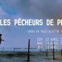 Les Pêcheurs de Perles par Bernard Pisani (affiche)