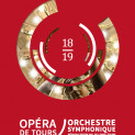 Affiche saison 2018/2019 Opéra de Tours