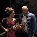 Barbara Haveman (Tosca) et Ruggero Raimondi (Scarpia)