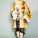 Costume de Jean-Marc Stehlé pour le rôle du Tigre dans La Flûte enchantée